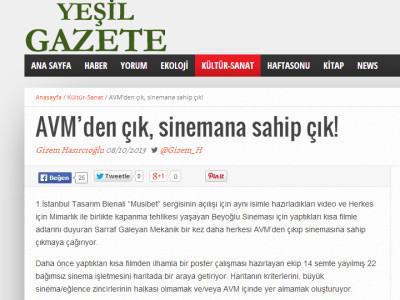 Yesil Gazete | 10.08.13